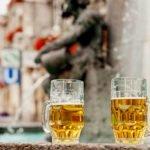 fonte pública de cerveja