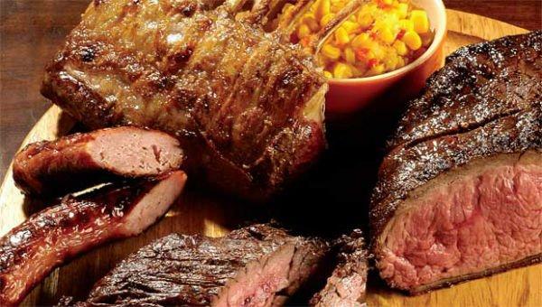carne na alimentação