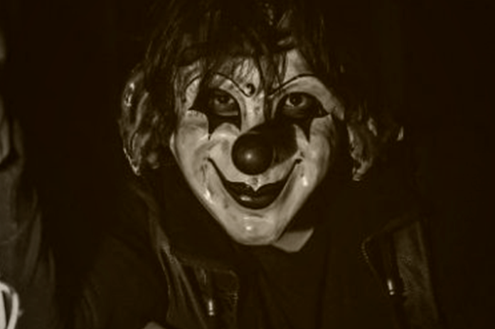 palhaços assustadores
