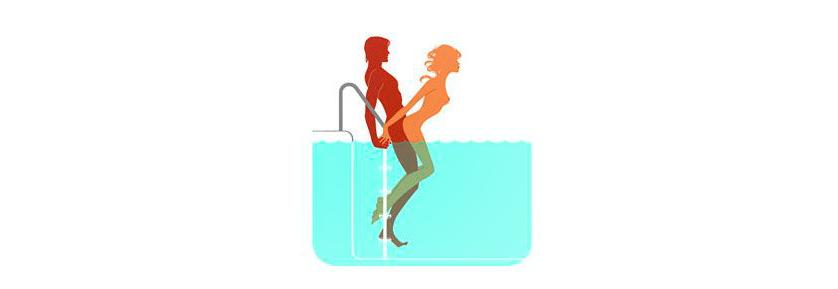 sexo na piscina