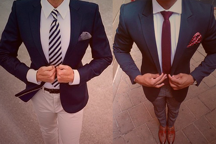 looks para homens magros
